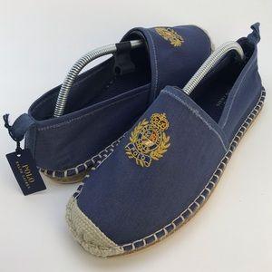 Polo Ralph Lauren Crest Barron Espadrille Loafers